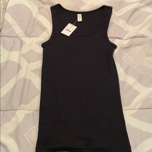 NEW Black J. Crew Fitted Favorite Tank